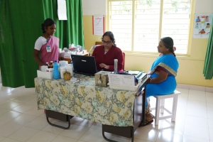 The CMC clinic in the Jawadhi Hills