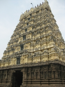 Temple inside Vellore Fort