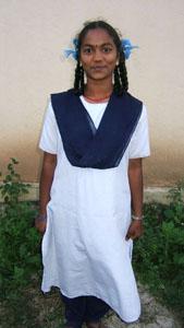 Girls uniform from Standard 6 to Standard 10