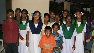 The One Candle Project's first group of children.