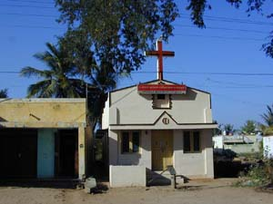 There are one or two Christian churches in the village.