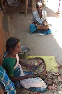 Beedi rolling pays about fifty rupees a day.