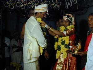 Most marriages in Tamil Nadu are arranged. The bride and groom will be from the same caste and the bride's family will pay a dowry.