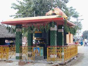 This beautiful shrine is in the centre of K.V.Kuppam village.