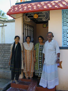 Sekar works for RUSHA and has been a vital part of the Bishopton/Kuppam Link since it was formed. He and his family always welcome Link visitors to their home.