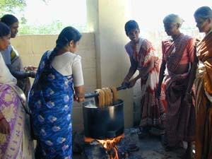 Success is not guaranteed. This group disbanded after problems with the natural dyes.